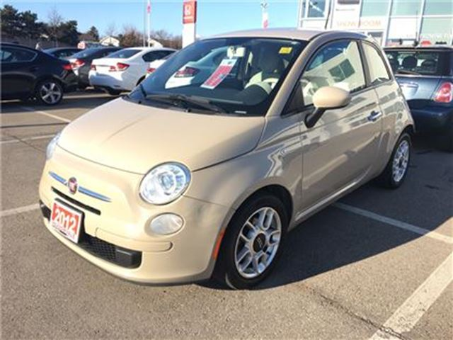 2012 FIAT 500 POP l Alloy Wheels l Winter Tires in Mississauga, Ontario