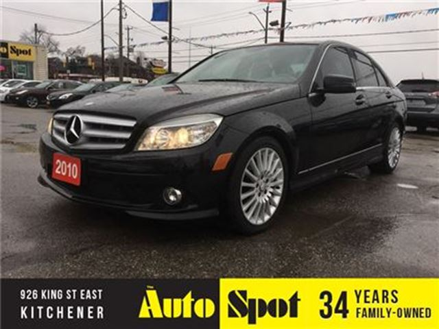 2010 MERCEDES-BENZ C-CLASS 250/MINT CAR/LOW,LOW KMS! in Kitchener, Ontario