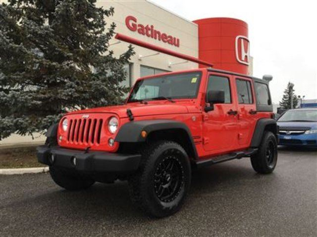 2016 JEEP WRANGLER Unlimited Sport in Gatineau, Quebec