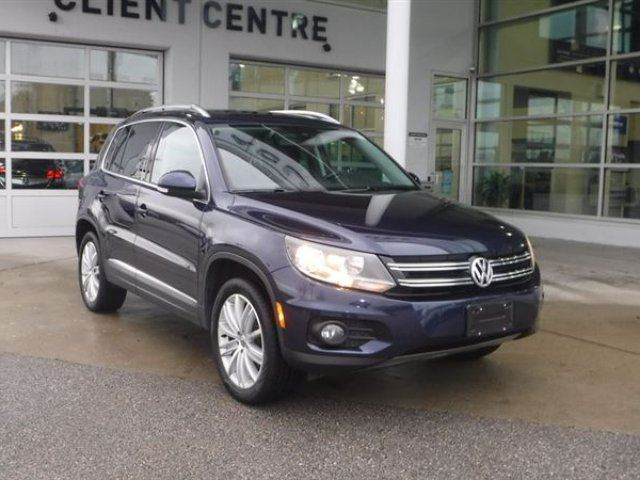 2015 VOLKSWAGEN TIGUAN Highline in Coquitlam, British Columbia