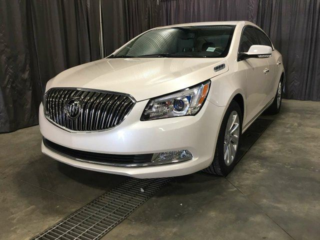 2014 BUICK LACROSSE REMOTE START, LEATHER $229 B/W in Red Deer, Alberta