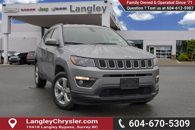 2017 JEEP COMPASS North *ACCIDENT FREE*ONE OWNER*LOCAL BC CAR* in Surrey, British Columbia