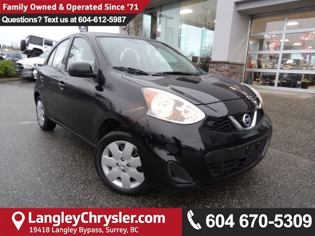 2016 NISSAN MICRA SV *LOCALLY OWNED*DEALER INSPECTED* in Surrey, British Columbia