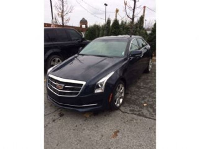 2015 CADILLAC ATS 2.0 Luxury AWD in Mississauga, Ontario
