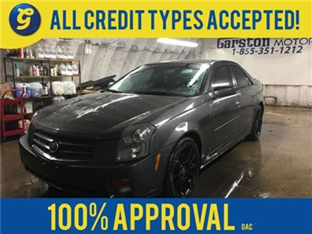 2007 CADILLAC CTS 3.6L********AS IS SALE********LEATHER*POWER SUNROO in Cambridge, Ontario