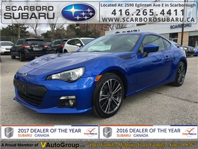 2016 SUBARU BRZ Sport-tech, FROM 1.9% FINANCING AVAILABLE in Scarborough, Ontario