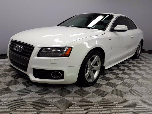 2010 AUDI A5 2.0T Premium quattro Coupe S-Line 6 Speed Manual - Locally Owned and Serviced   One Owner Trade In   3M Protection Applied   Equipped with Winter Tires   2 Sest of Rims/Tires Included   Leather/Suede Sport Seats   Heated Front Seats   Memory Seat   P in Edmonton, Alberta
