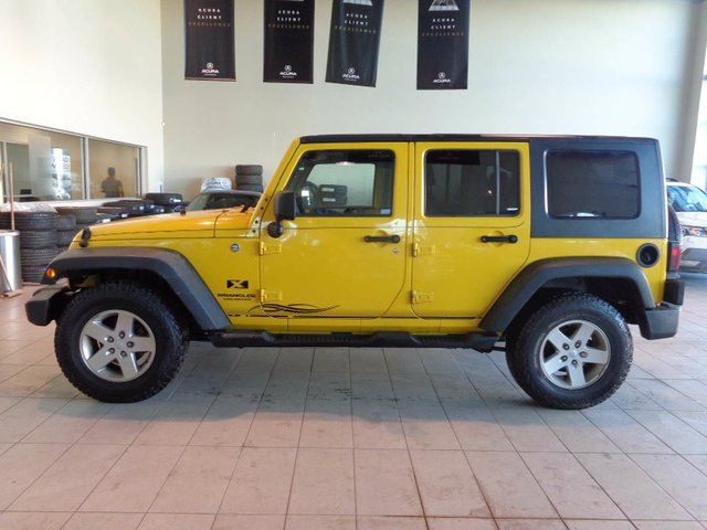 2008 JEEP WRANGLER Unlimited X - 4X4, AUX Input + PWR Acc's! in Red Deer, Alberta