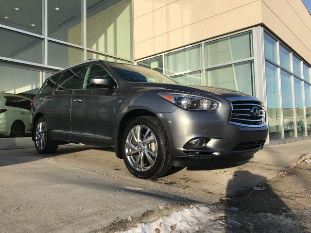 2015 INFINITI QX60 Accident Free/Navigation/Lane Departure/Blind Spot/DVD/Heated and Cooled front seats in Edmonton, Alberta