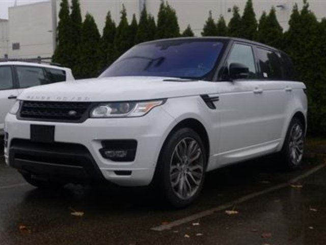 2016 LAND ROVER RANGE ROVER Sport V8 Supercharged Dynamic in North Vancouver, British Columbia
