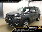 2014 Jeep Grand Cherokee Limited- V6, Sunroof, Leather! in Lethbridge, Alberta