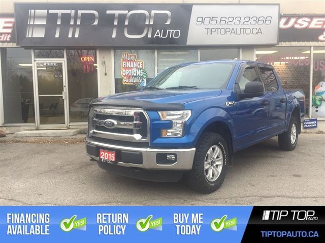 2015 FORD F-150 XLT ** Crew Cab, 5.0L V8, 4x4, Bluetooth ** in Bowmanville, Ontario