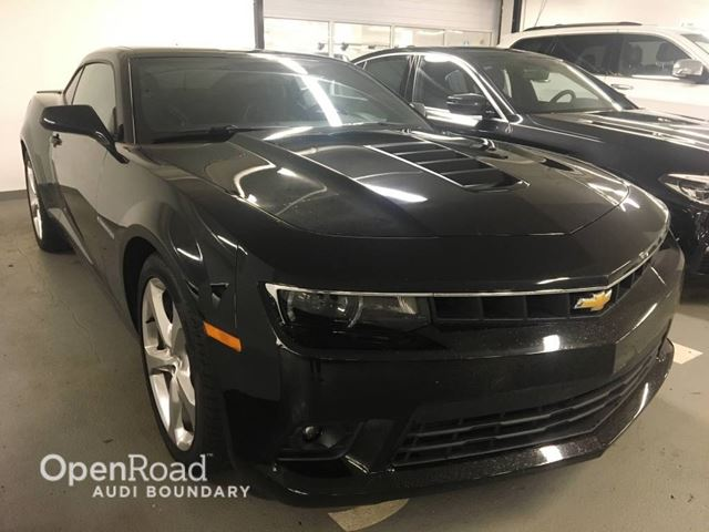 2015 CHEVROLET CAMARO 2dr Cpe SS w/2SS in Vancouver, British Columbia