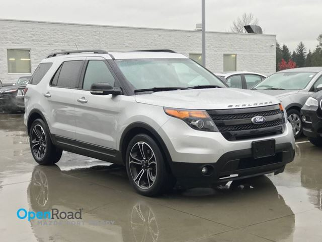 2014 FORD EXPLORER Sport A/T 4WD No Accident Local Bluetooth USB A in Port Moody, British Columbia