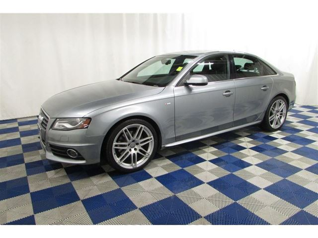2010 AUDI A4 2.0T Premium SLine AWD/NAV/REAR CAM/ACCIDENT FR in Winnipeg, Manitoba