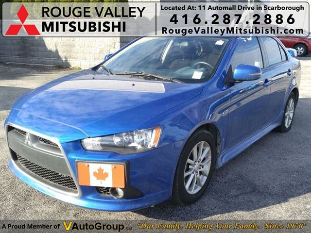 2015 MITSUBISHI LANCER SE LTD - SINGLE OWNER! NO ACCIDENTS! in Scarborough, Ontario