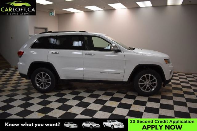 2016 JEEP GRAND CHEROKEE Limited-LEATHER * UCONNECT * BACKUP CAM in Kingston, Ontario