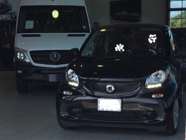 2016 SMART FORTWO 2dr Cpe Pure in Mississauga, Ontario