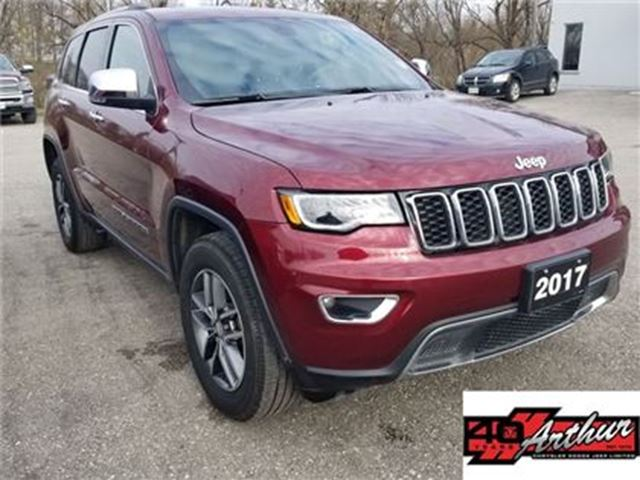 2017 JEEP GRAND CHEROKEE Limited in Arthur, Ontario