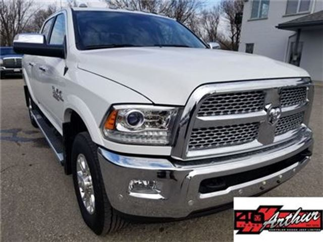 2017 ram 2500 laramie crew cab 4x4 cummins white arthur. Black Bedroom Furniture Sets. Home Design Ideas