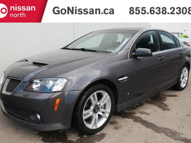 2009 PONTIAC G8 V6 LOW KMS, GREAT SHAPE! in Edmonton, Alberta