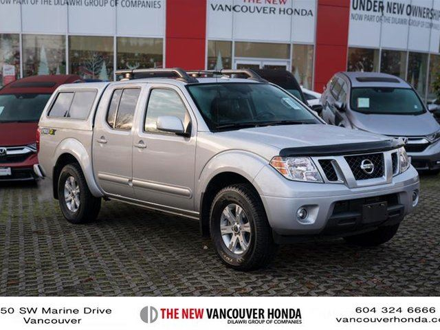 2016 NISSAN FRONTIER PRO-4X at in Vancouver, British Columbia