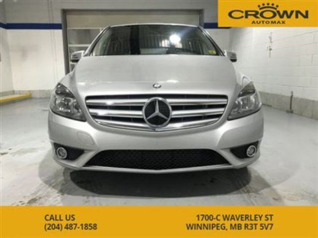 2014 MERCEDES-BENZ B-CLASS 4dr HB 250 Sports Tourer in Winnipeg, Manitoba