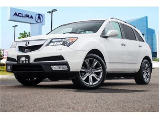 2011 ACURA MDX Elite 6sp at Accident Free Navigation DVD in Thornhill, Ontario