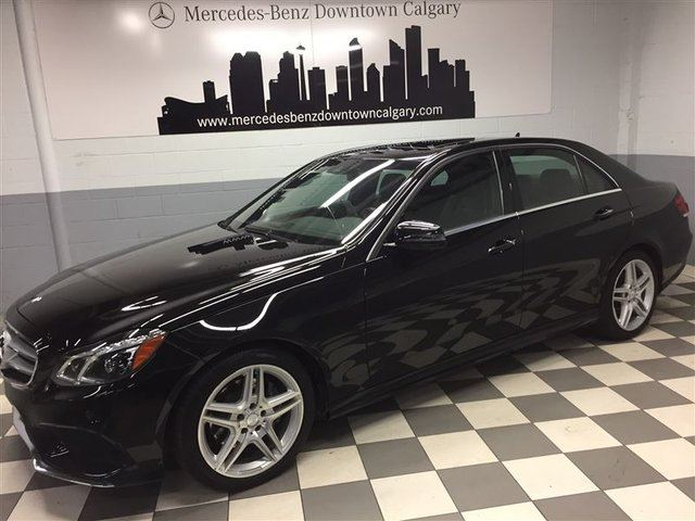 2014 MERCEDES-BENZ E-Class E350 4MATIC Premium LED Drive Assist+ in Calgary, Alberta