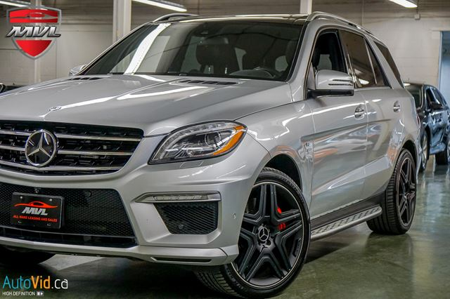 2015 MERCEDES-BENZ M-Class ML63 AMG 4MATIC in Oakville, Ontario