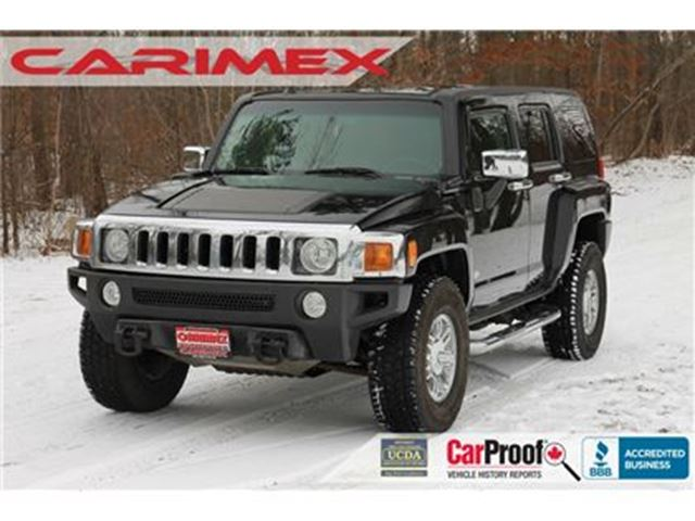 2007 HUMMER H3 Base ONLY 126K   Leather   CERTIFIED in Kitchener, Ontario