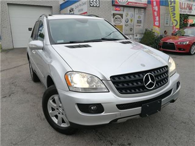 2006 Mercedes-Benz M-Class 350 LEATHER_SUNROOF_ENTERTAINMENT PKG in Oakville, Ontario