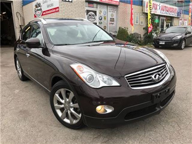 2008 Infiniti EX35 Luxury_Navigation_360 Camera_Low KMS in Oakville, Ontario
