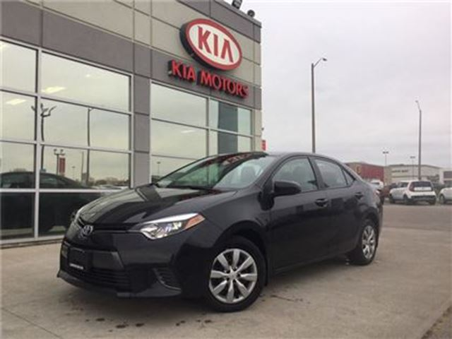 2016 TOYOTA COROLLA LE in Cambridge, Ontario