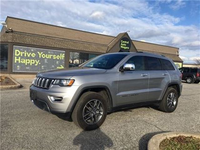 2017 JEEP GRAND CHEROKEE Limited / LEATHER / NAVIGATION in Fonthill, Ontario