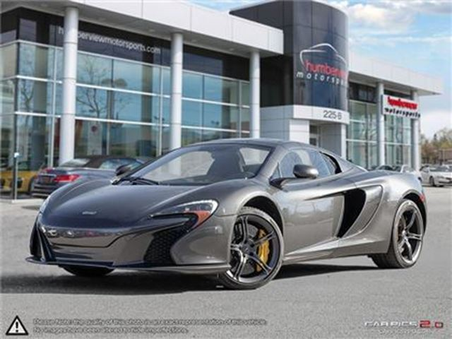 2015 MCLAREN 650S Spyder   650HP   CAR-PROOF CLEAN in Mississauga, Ontario