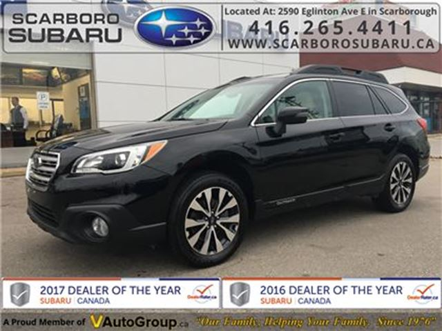 2015 SUBARU OUTBACK 2.5i Limited PKG, FROM 1.9% FINANCING AVAILABLE in Scarborough, Ontario