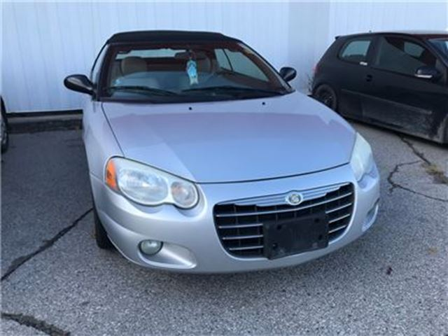 2005 CHRYSLER SEBRING Limited   FRESH TRADE   AS IS in London, Ontario