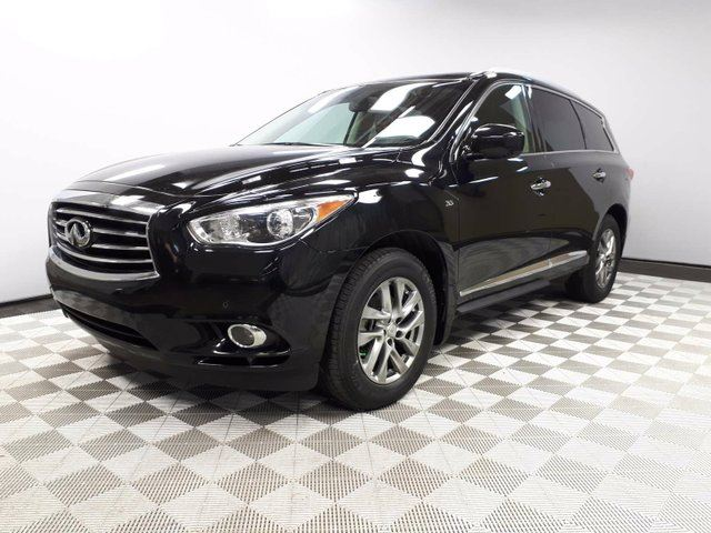 2014 INFINITI QX60 AWD 7 Seats - Local 2nd Owner Trade In | No Accidents | Leather Interior | Heated Front Seats | Multi Zone Climate Control with AC | Power Sunroof | Power Liftgate | Factory Remote Starter | 18 Inch Wheels | Navigation | Back Up/Birds Eye View Camera in Edmonton, Alberta