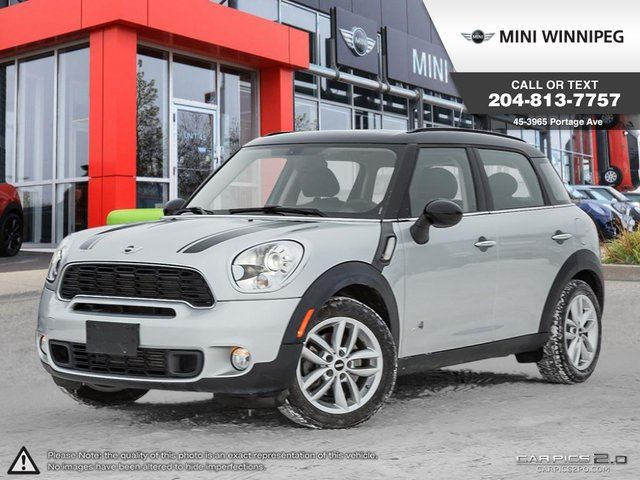 2014 MINI COOPER Countryman S Lights, Wired & Premium Package! in Winnipeg, Manitoba