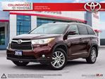 2016 Toyota Highlander XLE AWD NAVIGATION AND ALLOYS in Collingwood, Ontario