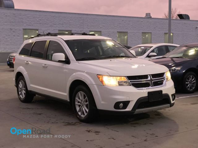 2013 DODGE JOURNEY SXT A/T One Owner Local Bluetooth USB AUX Navi  in Port Moody, British Columbia