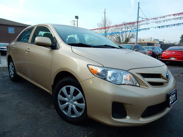 2011 TOYOTA COROLLA CE  AUTOMATIC  ALL POWER OPTIONS  81KM in Kitchener, Ontario