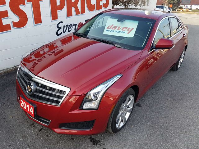 2014 CADILLAC ATS 2.0L Turbo ALL WHEEL DRIVE, SUNROOF, LEATHER INTERIOR in Oshawa, Ontario