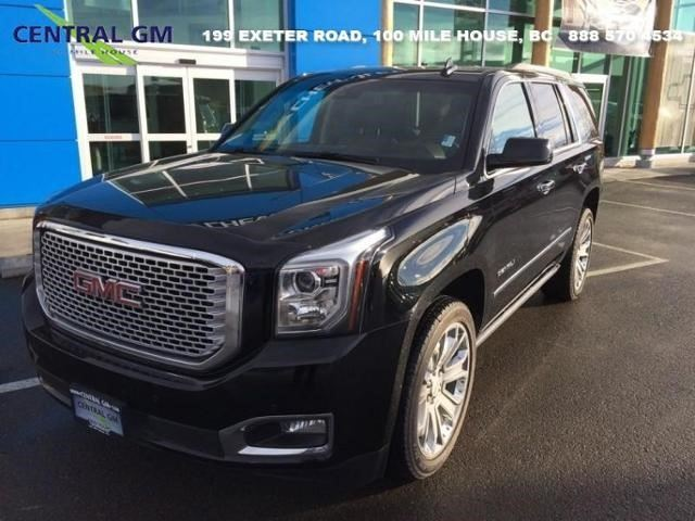 2016 GMC Yukon Denali in 100 Mile House, British Columbia
