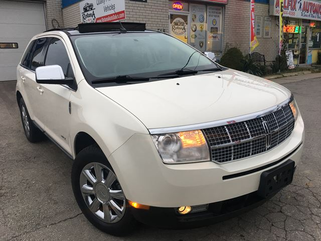 2008 LINCOLN MKX NAVIGATION_PANORAMIC SUNROOF_LOW KMS in Oakville, Ontario