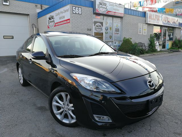 2010 Mazda MAZDA3 GT w/NAVI_Sunroof_Backup Camera_Leather in Oakville, Ontario