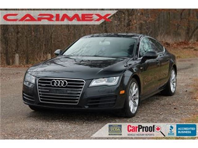 2012 AUDI A7 Premium Plus NAVI   Lane-Change Assist   Sunroof in Kitchener, Ontario