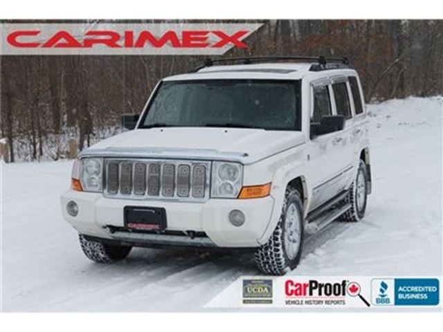 2006 JEEP COMMANDER Limited 4x4   Leather   Heated Seats   CERTIFIED in Kitchener, Ontario
