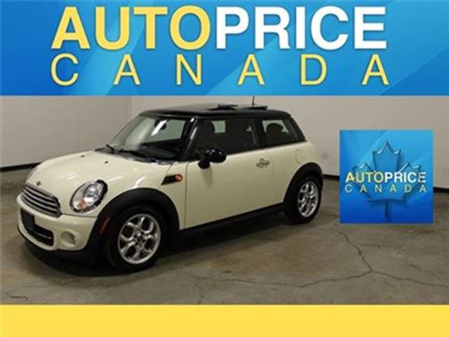 2013 MINI COOPER PANORAMIC ROOF AUTO AND MORE in Mississauga, Ontario